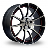 Image for Konig Z-IN Matt_Black Alloy Wheels