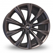 Image for Zito CRS_5x120_Low_Wider_Rear Grey Alloy Wheels