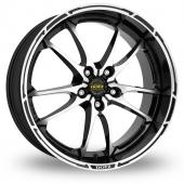 Image for Dotz Tupac Black_Polished Alloy Wheels