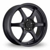 Konig Backbone Matt Black Alloy Wheels