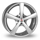 Calibre Panik Silver Alloy Wheels