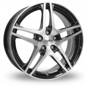 Dezent RB Black Polished Alloy Wheels