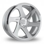 Image for ThreeSDM 0_06_5x112_Wider_Rear Silver_Polished Alloy Wheels
