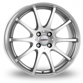 Dezent V Silver Alloy Wheels