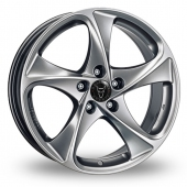 Image for Wolfrace Catania Shadow_Chrome Alloy Wheels