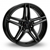 Image for Wolfrace M10 Black Alloy Wheels