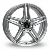Wolfrace M10 Silver Alloy Wheels