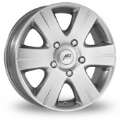 AEZ Quadro Silver Alloy Wheels