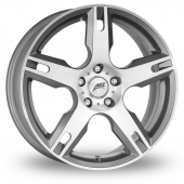 AEZ Tacana Gun Metal Polished Alloy Wheels