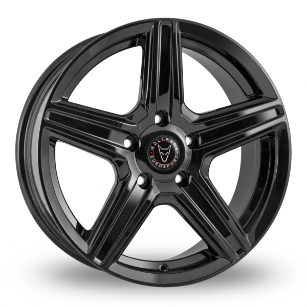 Zoom Wolfrace Scorpio Black Alloys