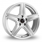 Image for Wolfrace Scorpio Silver Alloy Wheels