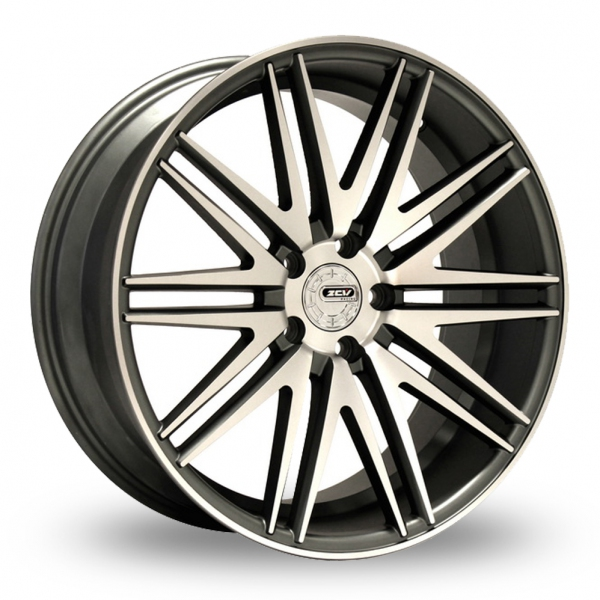 Zoom ZCW V10 Gun_Metal_Polished Alloys