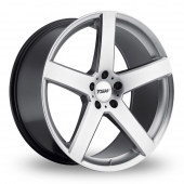 Image for TSW Rivage_5x120_Wider_Rear Silver Alloy Wheels