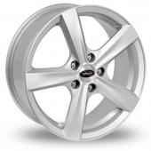 CYCLONE SILVER Alloy Wheels