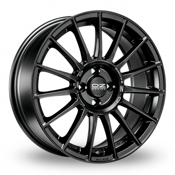 Zoom OZ_Racing Superturismo_LM Matt_Black Alloys