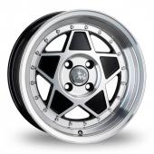 Junk Re'jekt Black Polished Alloy Wheels
