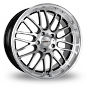 "18"" Calibre Spur Black/Polished Alloy Wheels"