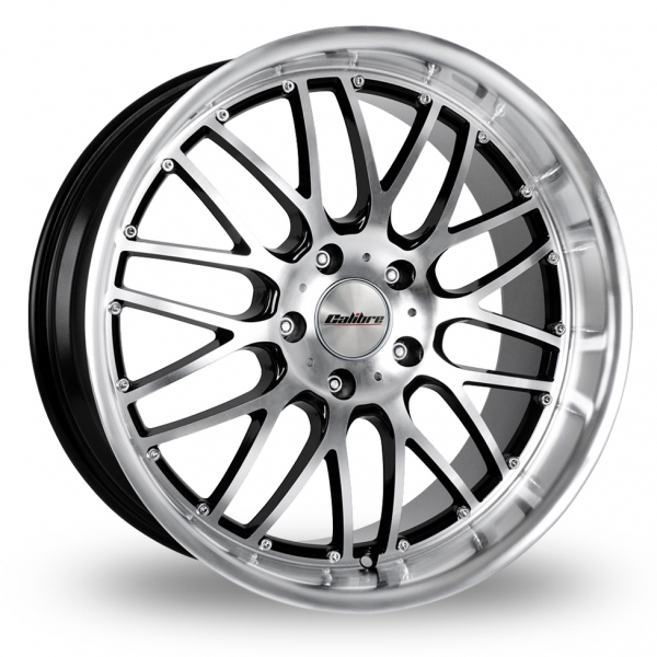 Zoom Calibre Spur_5x120_Wider_Rear Black_Polished Alloys