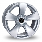 Wolfrace E Silver Alloy Wheels