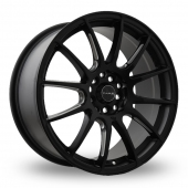 Dare DR-STR Matt Black Alloy Wheels
