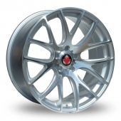 Axe CS Lite Silver Polished Alloy Wheels
