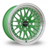 Image for Dare DCC Green Alloy Wheels