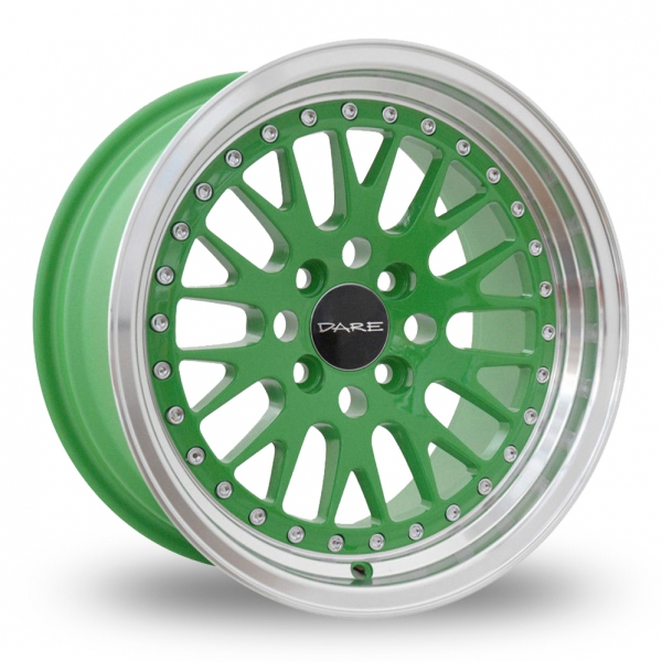 Zoom Dare DCC Green Alloys