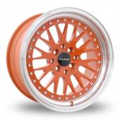 Image for Dare DCC Orange Alloy Wheels