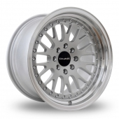 Dare DCC Wider Rear Silver Alloy Wheels