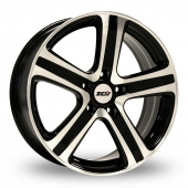 Image for ZCW ZM5 Black_Polished Alloy Wheels