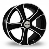 Image for ZCW Punk Matt_Black Alloy Wheels
