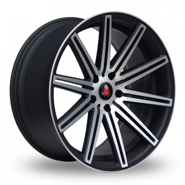 Zoom Axe EX15_5x114_Wider_Rear Matt_Black Alloys