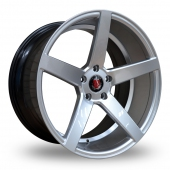 Axe EX18 Hyper Silver Alloy Wheels