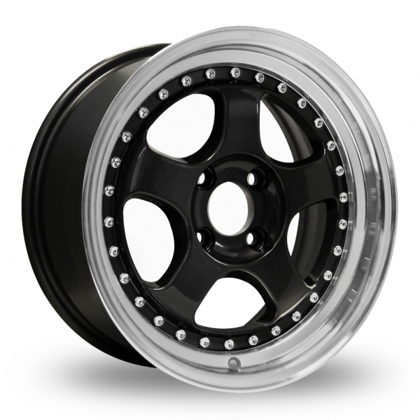 Zoom Konig Candy Black Alloys