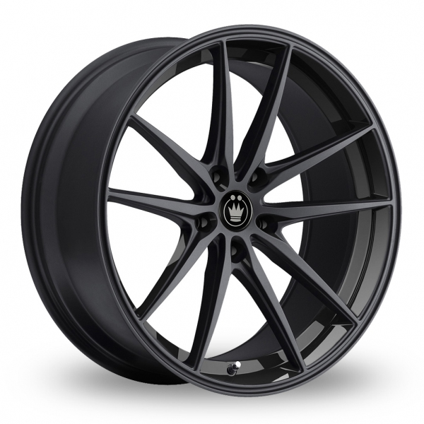 "Konig Oversteer Black 18"" Alloy Wheels - Wheelbase"