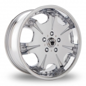 Image for Konig Blix_EU5 Chrome Alloy Wheels