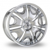 Konig Blix 1 Chrome Alloy Wheels