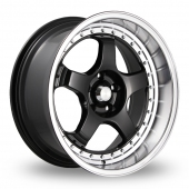 Image for Konig SSM_Wider_Rear Black Alloy Wheels