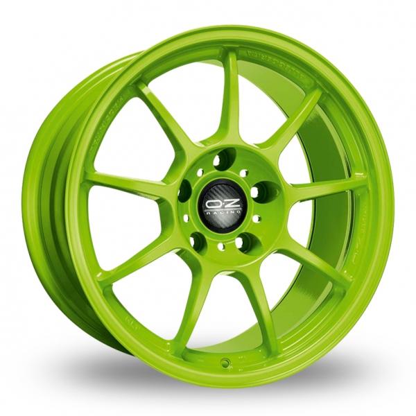 Zoom OZ_Racing Alleggerita_HLT_5x120_Wider_Rear Green Alloys