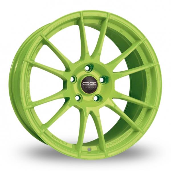 Zoom OZ_Racing Ultraleggera_HLT_Wider_Rear Green Alloys