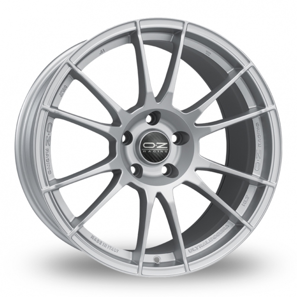 Zoom OZ_Racing Ultraleggera_HLT_Wider_Rear Silver Alloys