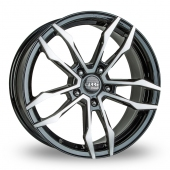 Carre VT5 Black Polished Alloy Wheels