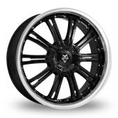 Wolf Design Wolf Design Vermont Black Alloy Wheels