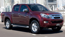 all Isuzu D-Max alloys